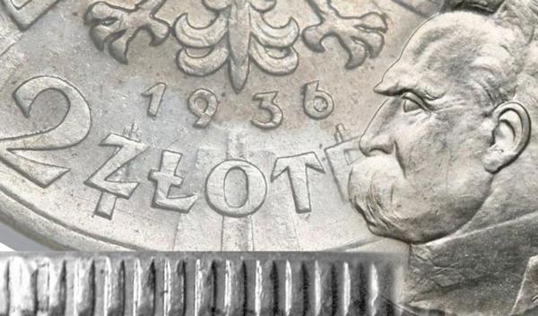 Jak rozpoznać oryginalne 2 złote 1936 Piłsudski